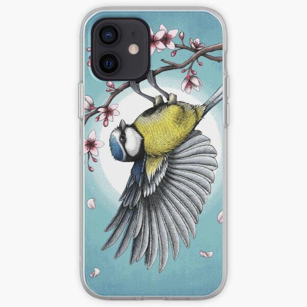 Blue Tit iPhone Soft Case