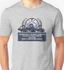Earth Defense Force I am the Earth Defense Force EDF T-Shirt
