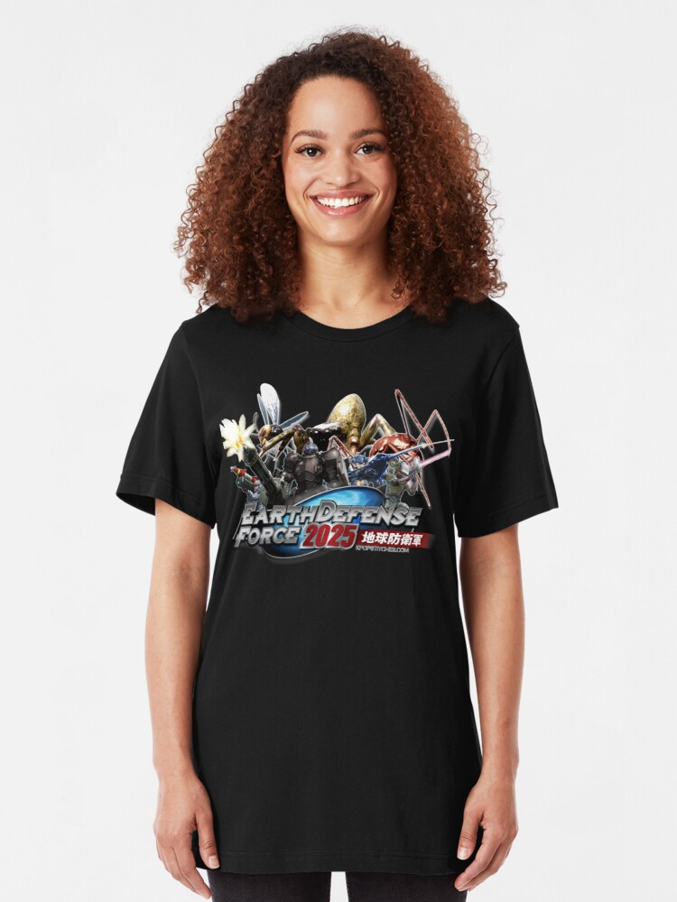 Alternate view of Earth Defense Force 2025 EDF Slim Fit T-Shirt