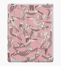 cat party pink iPad Case/Skin
