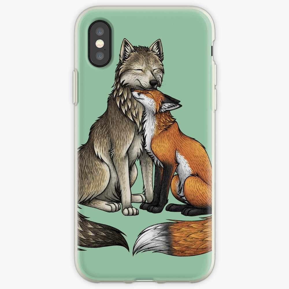 Wolf & Fox iPhone Case & Cover