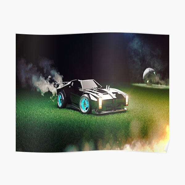 Rocket Car Soccer  Poster