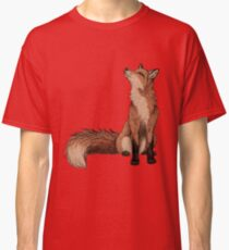 Camiseta clásica Zorro rojo