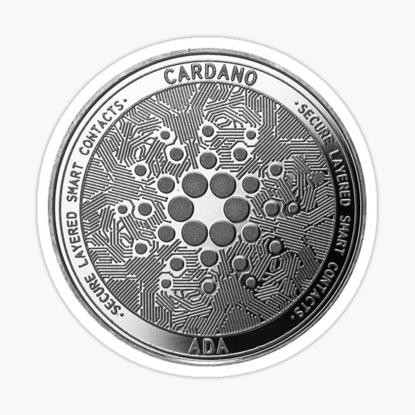 Cardano Coin ADA Sticker