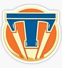 Tomorrowland Pin Sticker