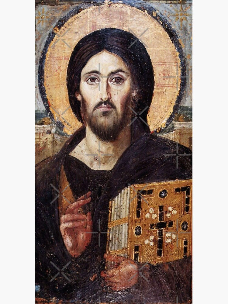 Christ the Pantokrator (Sinai) by Beltschazar