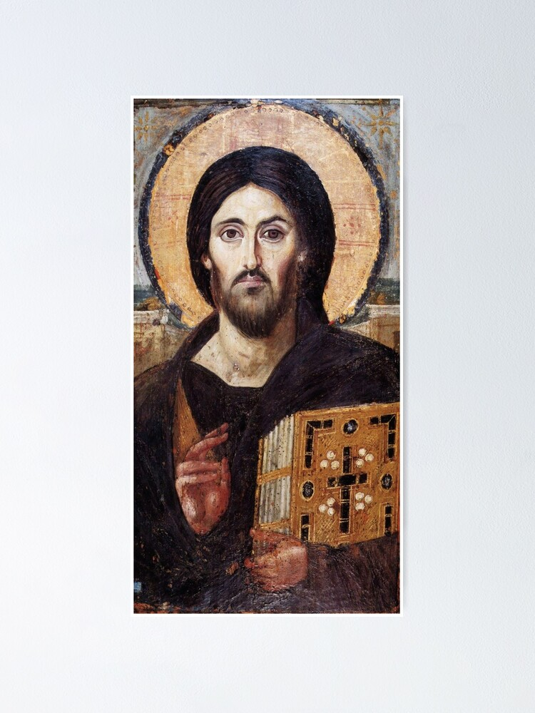 Alternate view of Christ the Pantokrator (Sinai) Poster