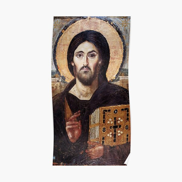 Christ the Pantokrator (Sinai) Poster