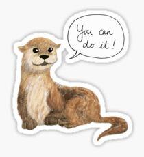 Otter - Motivational Sticker