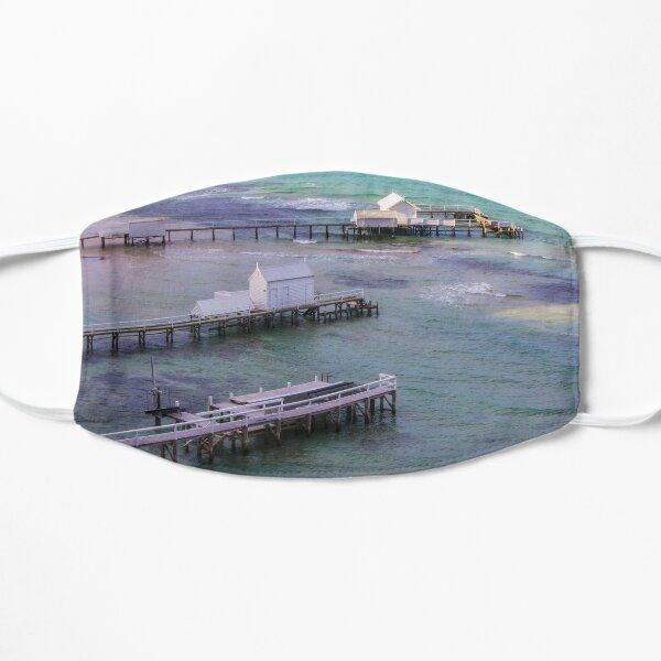 The view from Millionaire's Walk, Sorrento, Mornington Peninsula, Victoria, Australia Flat Mask