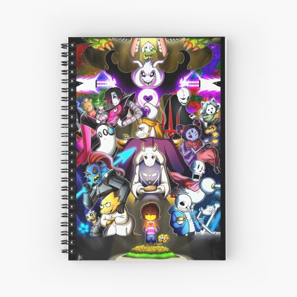 Undertale Spiral Notebook