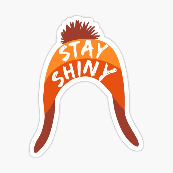 Stay Shiny Sticker