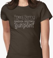 at gunpoint Womens Fitted T-Shirt