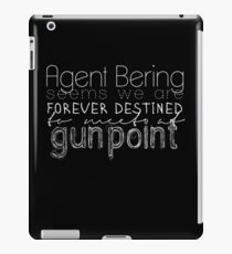 at gunpoint iPad Case/Skin