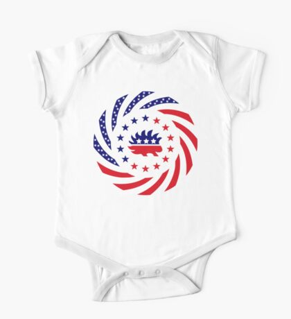 Libertarian Murican Patriot Flag Series Kids Clothes