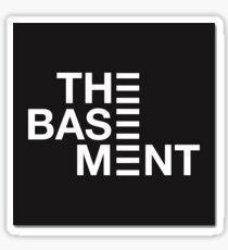 the basement logo Sticker