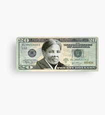 Harriet Tubman Twenty Dollar Bill Canvas Print