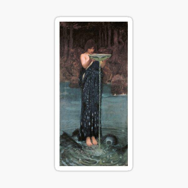 Circe Invidiosa by John William Waterhouse Sticker
