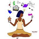 Supermom/Namaste by KLCreative