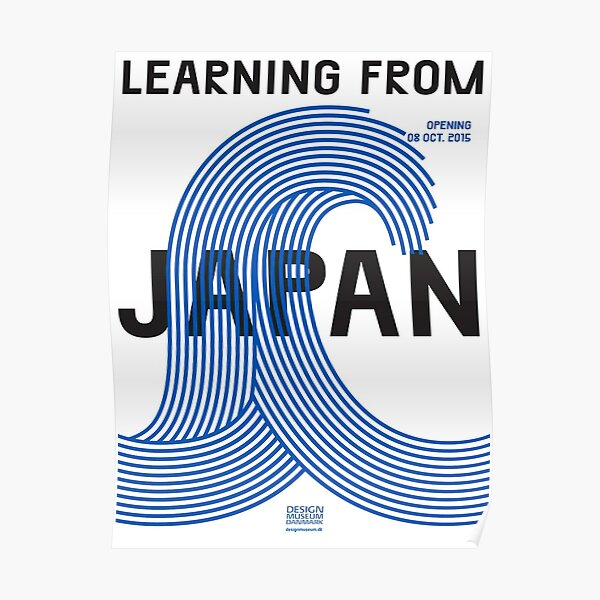 learning from japan Poster