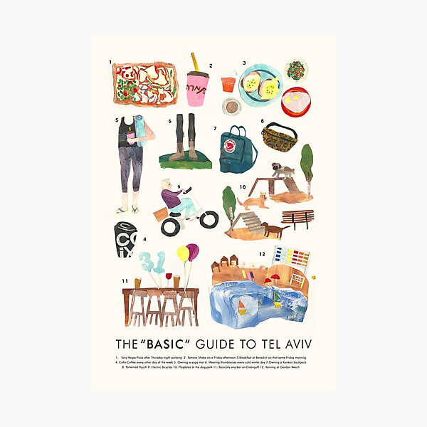 Basic TLV Guide Photographic Print