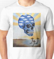 Surreal Skull Unisex T-Shirt