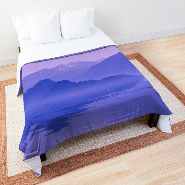Ocean Mountain Landscape Comforter
