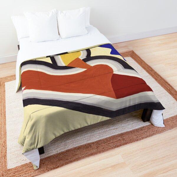 """""""Stop Dreaming Start Doing"""", Inspiring Graphic Design Comforter"""