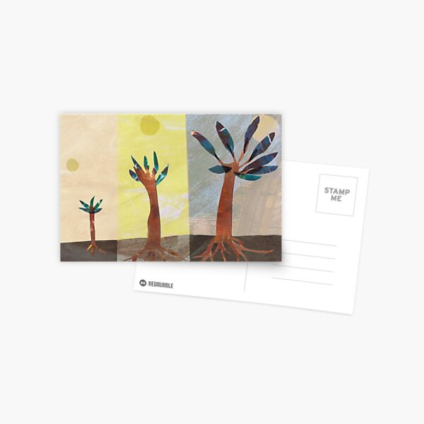 Sprouting tree Postcard