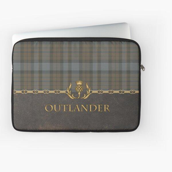 Leather and tartan - Outlander II Laptop Sleeve