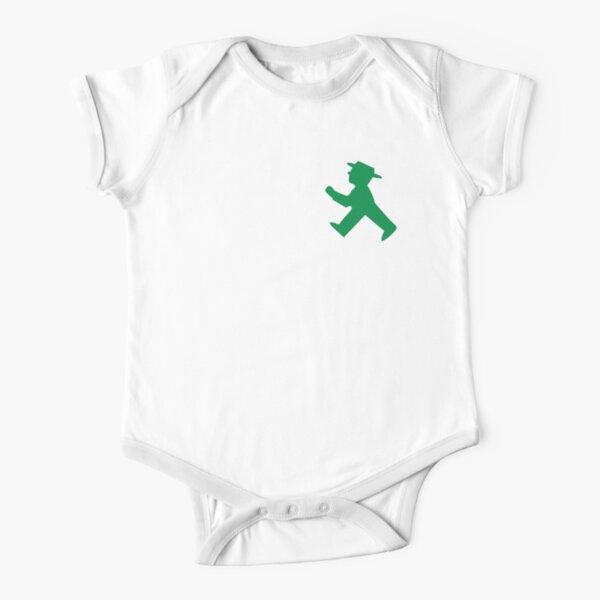 Ampelmännchen Short Sleeve Baby One-Piece