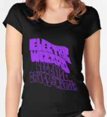 Electric Wizard, Legalise Drugs & Murder  Women's Fitted Scoop T-Shirt