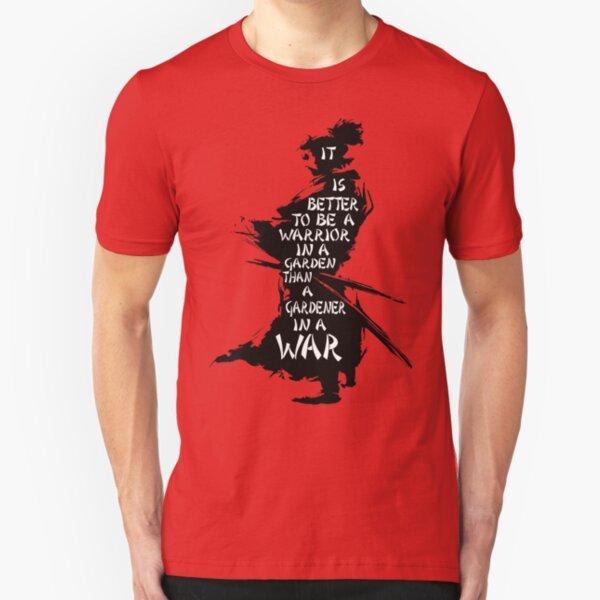 Warrior's Garden Slim Fit T-Shirt