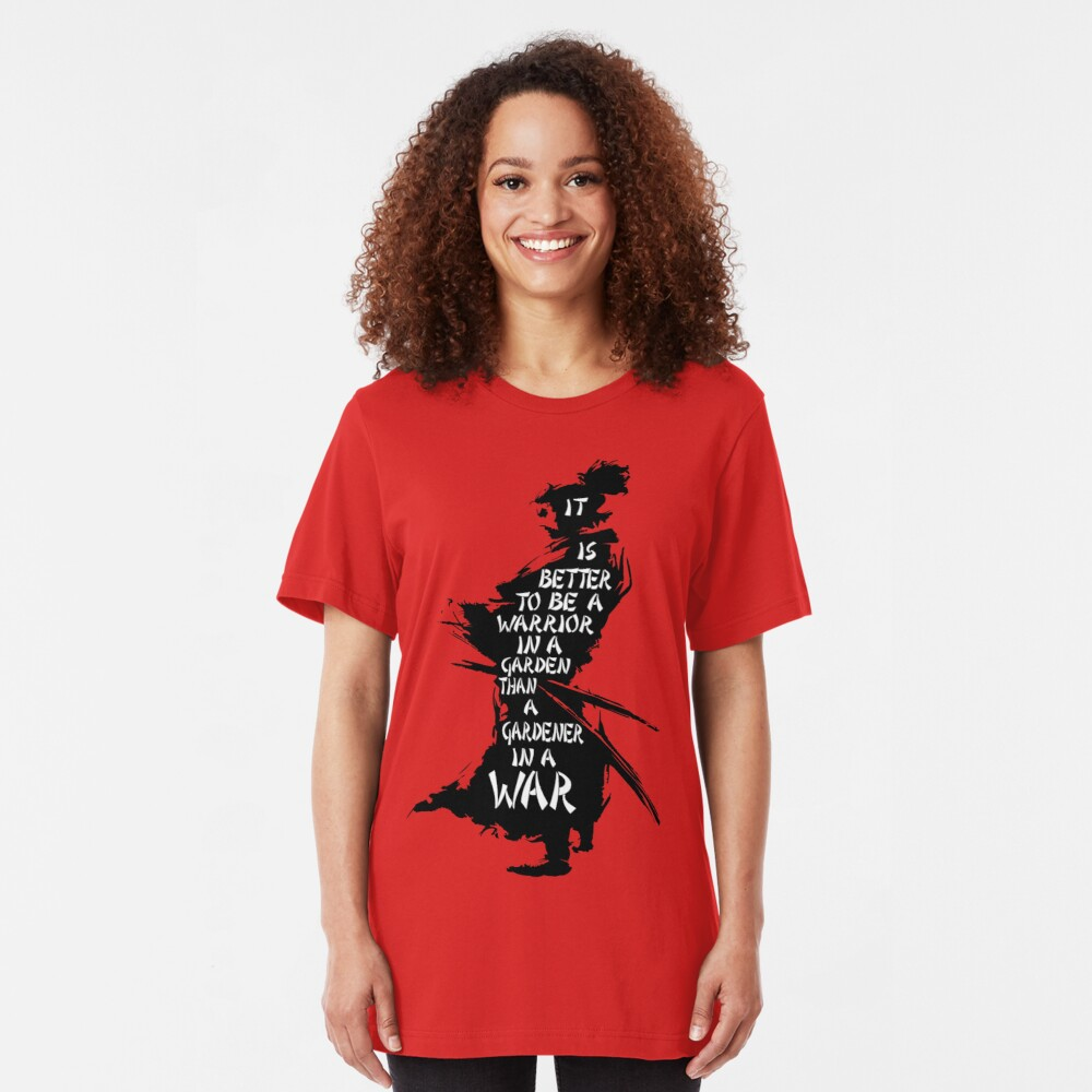Garten des Kriegers Slim Fit T-Shirt