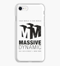 Massive Dynamic (aged look) iPhone Case/Skin