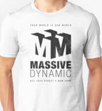 Massive Dynamic (aged look) Slim Fit T-Shirt