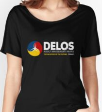 Delos – Adult Amusement Parks (aged look) Women's Relaxed Fit T-Shirt
