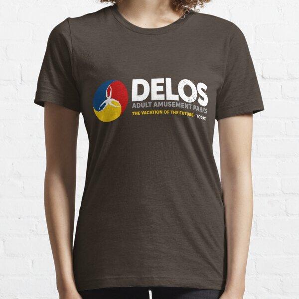 Delos – Adult Amusement Parks (aged look) Essential T-Shirt