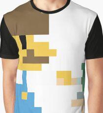 Super BobRossario Bros. Graphic T-Shirt