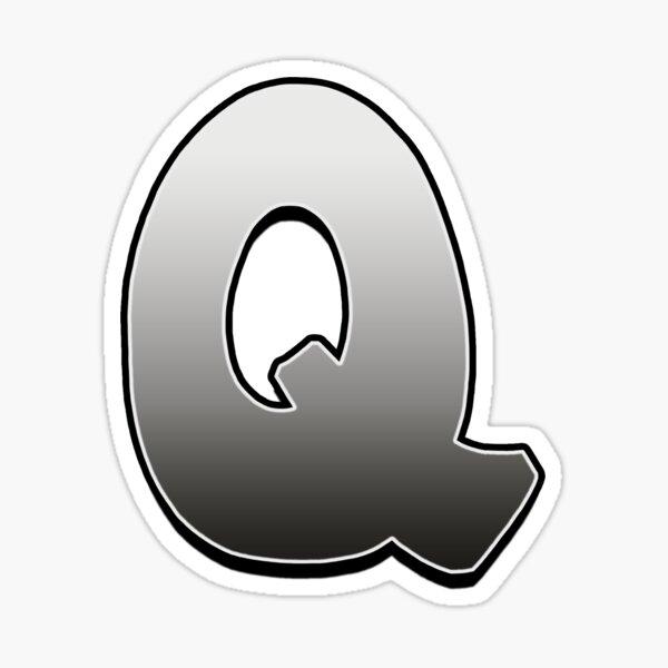 Letter Q Sticker