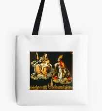 Ludovico Lana, The Intercession of Saint Geminianus of Modena Tote Bag
