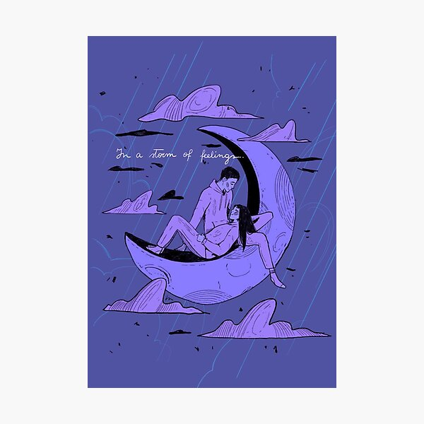 Storm of feelings Photographic Print
