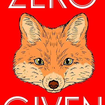 Zero Fox Given by catofnimes