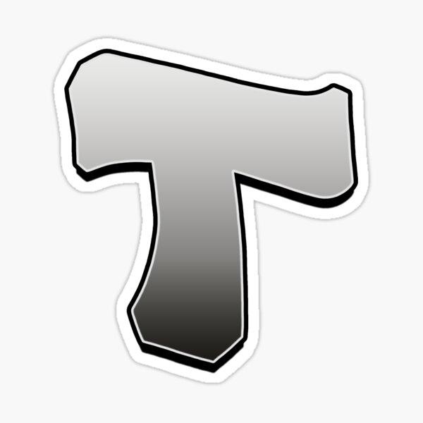 Letter T Sticker