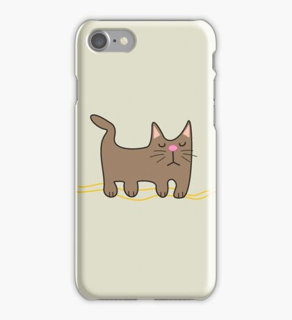 All You Need is love. And a Cat. iPhone Case/Skin