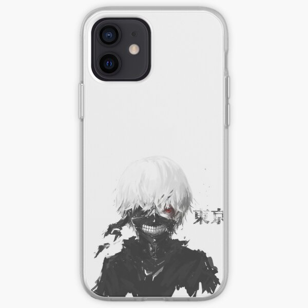 Tokyo Ghoul Blanc Coque souple iPhone