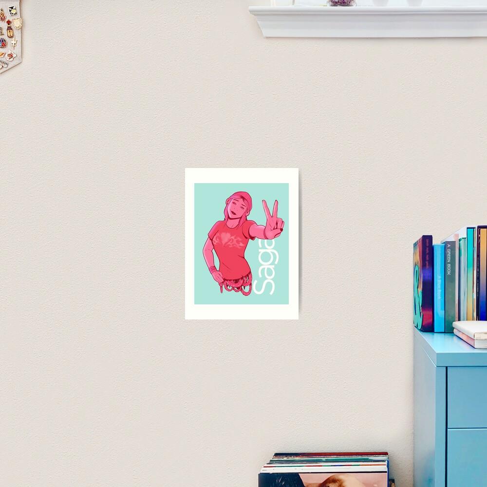 Izabel Art Print