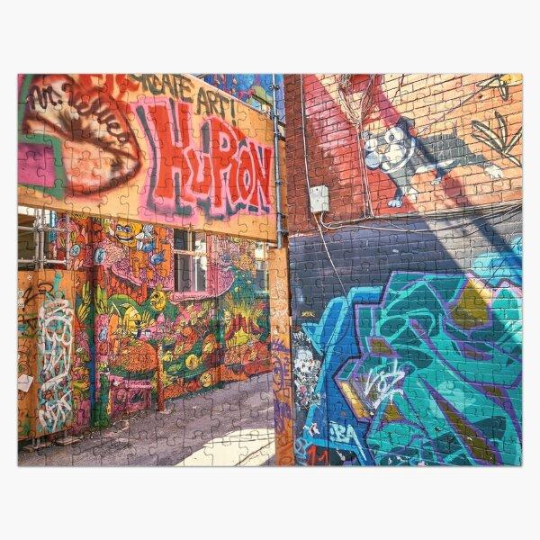 Create street art Jigsaw Puzzle Jigsaw Puzzle