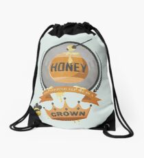 Honey, You Should See Me In A Crown. Drawstring Bag
