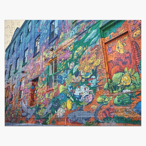 The Painted House Jigsaw Puzzle Jigsaw Puzzle